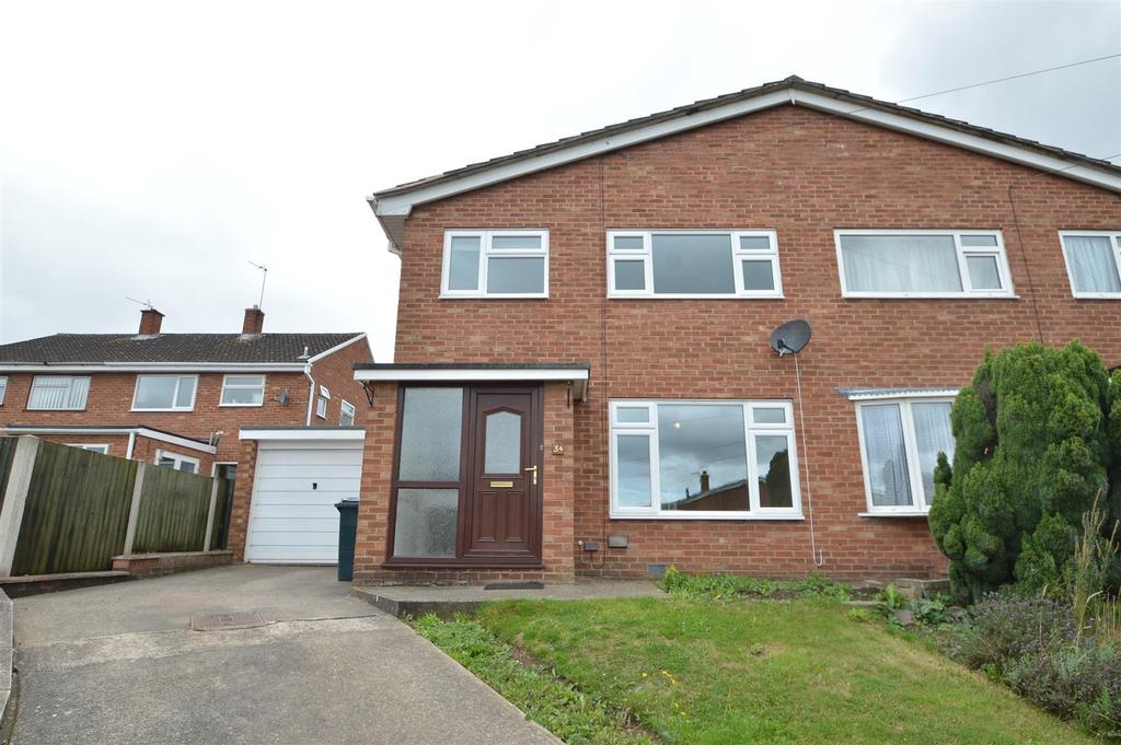4 Bedrooms Semi Detached House for sale in 34 Maple Drive, Shrewsbury, SY1 3SE