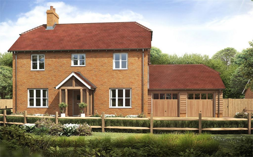 4 Bedrooms Detached House for sale in Torbay Farm, Upham, Hampshire