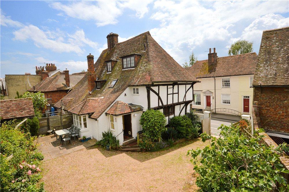 5 Bedrooms Semi Detached House for sale in Bridge Street, Wye, Ashford, Kent