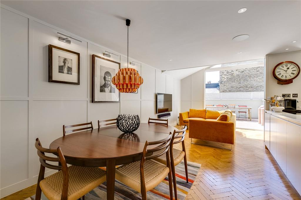 2 Bedrooms Flat for sale in New Kings Road, Parsons Green, Fulham, London