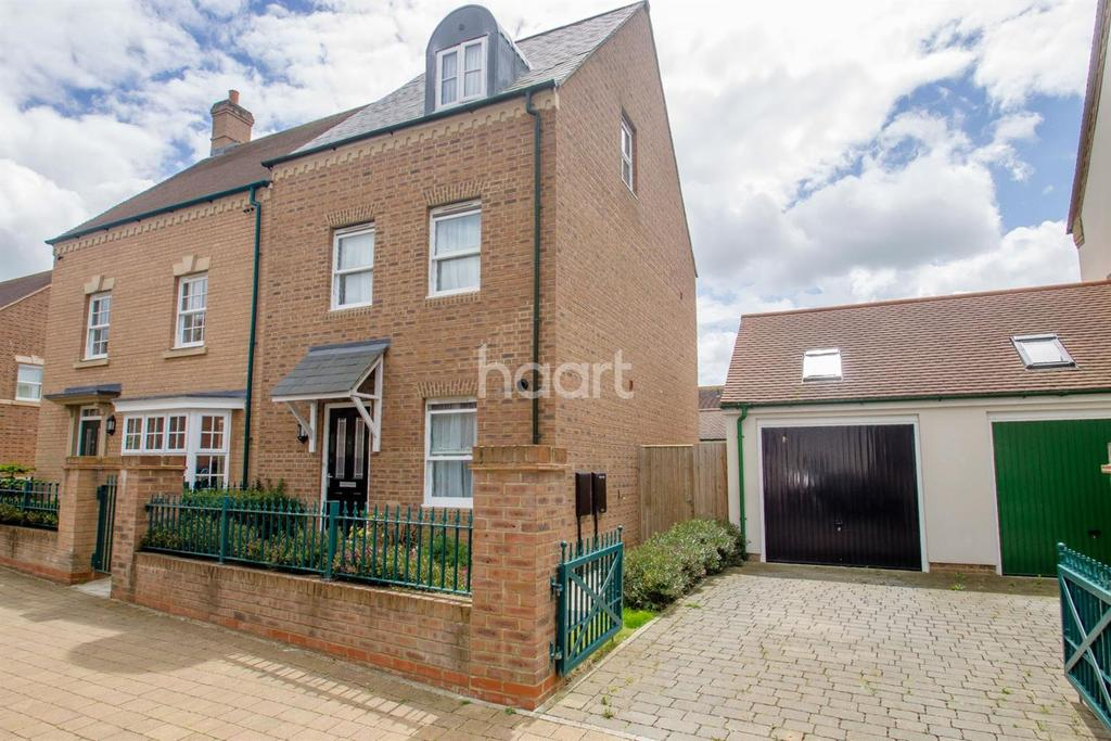 4 Bedrooms Semi Detached House for sale in Holne Road, Swindon, Wiltshire