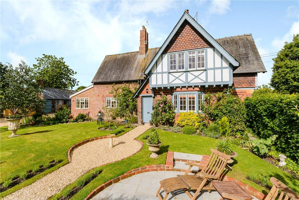4 Bedrooms Semi Detached House for sale in West Overton, Marlborough, Wiltshire, SN8