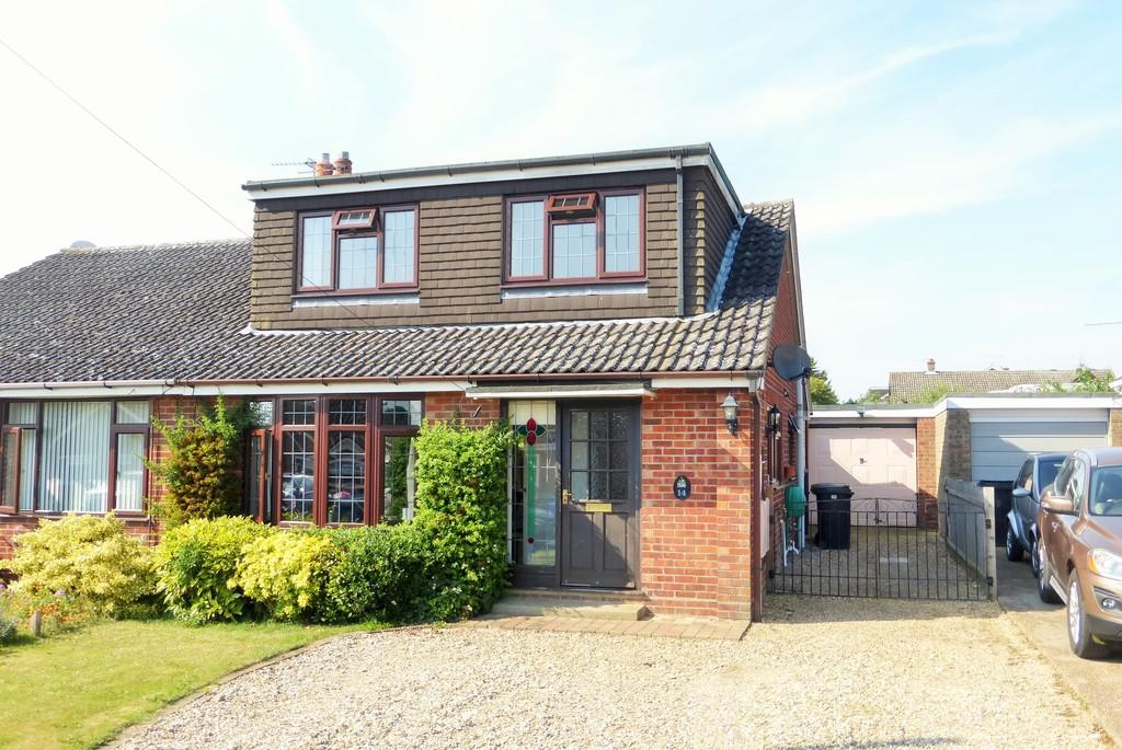 4 Bedrooms Semi Detached House for sale in Hempnall