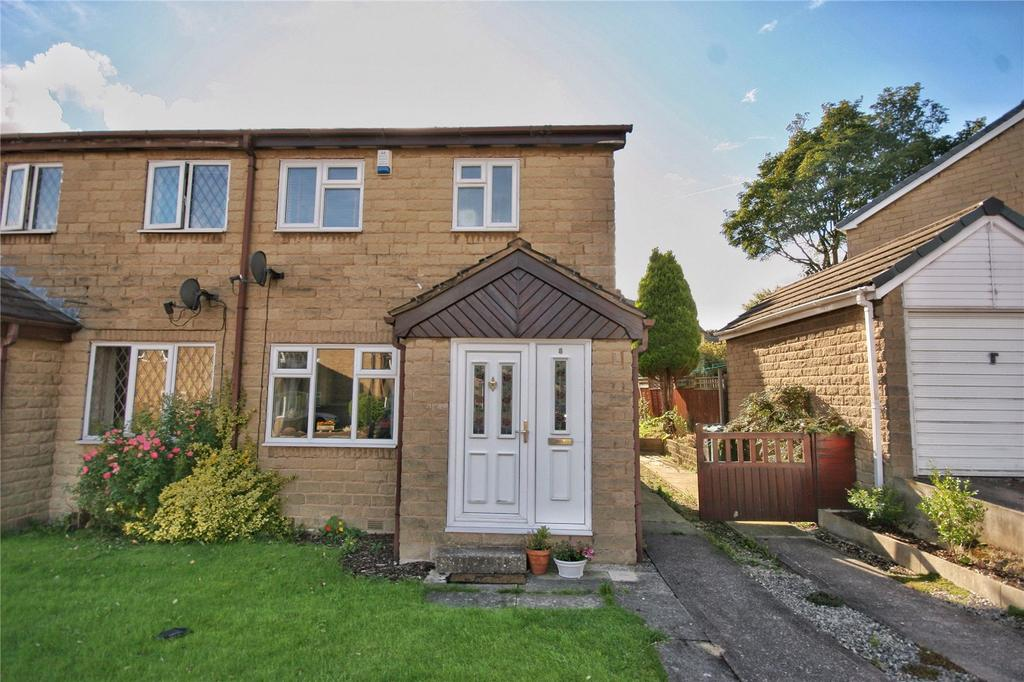 3 Bedrooms Semi Detached House for sale in Royd Croft, Huddersfield, West Yorkshire, HD3
