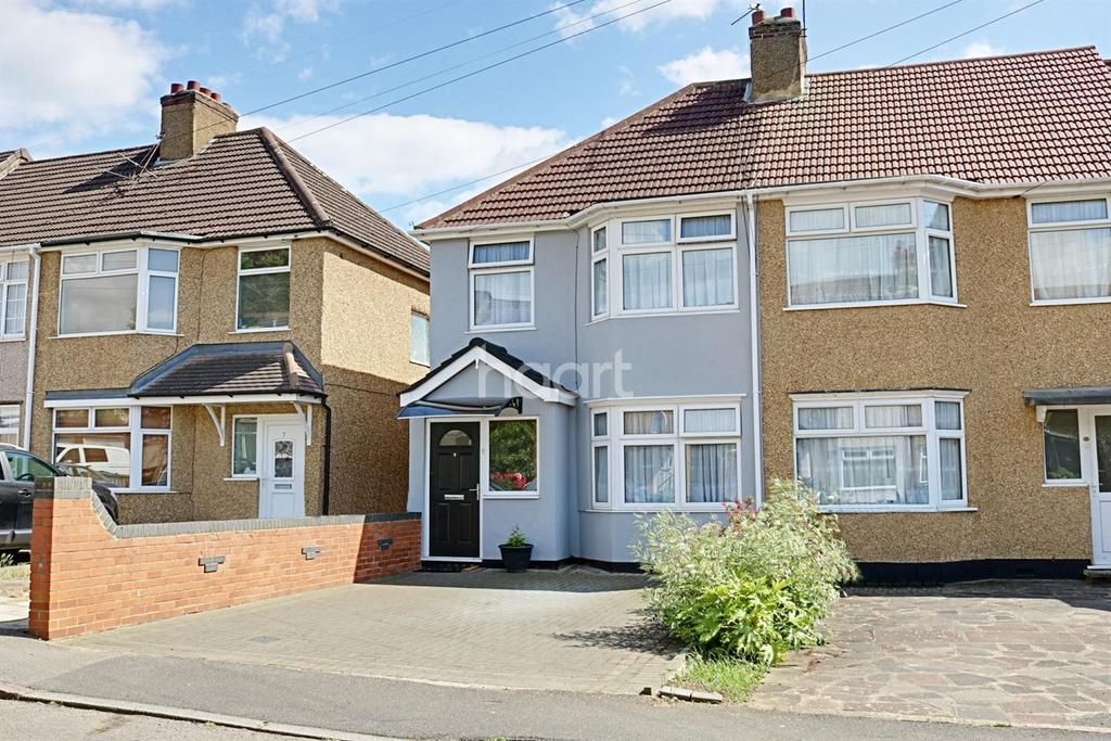 3 Bedrooms End Of Terrace House for sale in Brinsley Road, Harrow, HA3