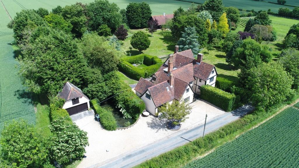 5 Bedrooms Detached House for sale in Boytons Farm, Boytons Lane, Hempstead