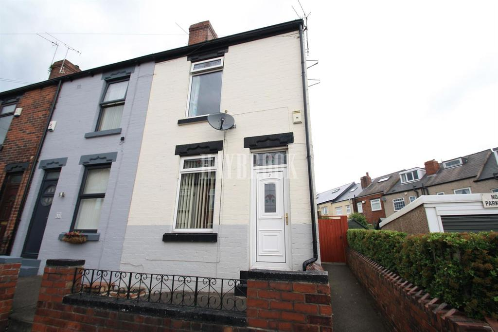 2 Bedrooms End Of Terrace House for sale in Gillott Road, Wadsley Bridge