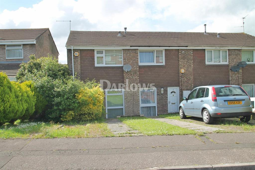 2 Bedrooms End Of Terrace House for sale in Lyncroft Close, Llanrumney, Cardiff