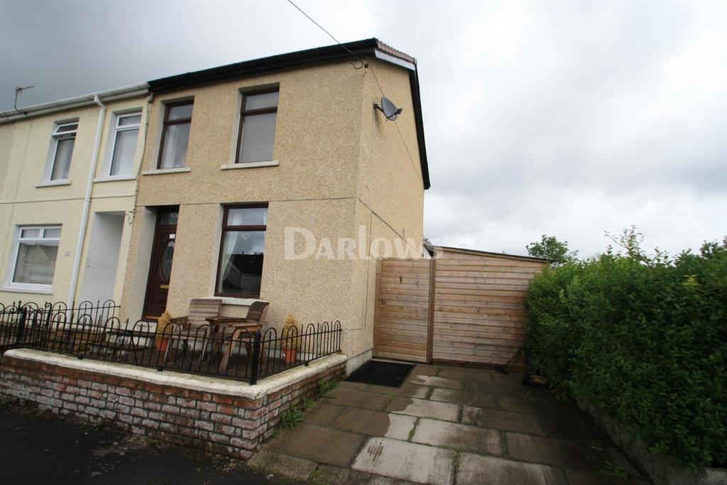 3 Bedrooms End Of Terrace House for sale in Arnold Place, Tredegar, Blaenau Gwent