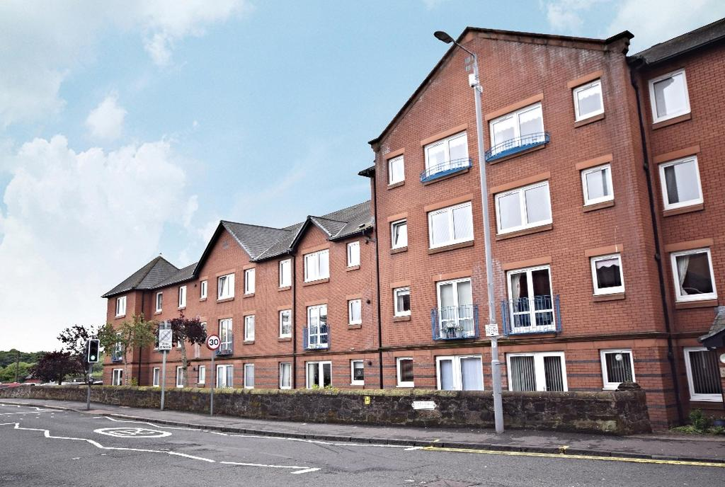 1 Bedroom Flat for sale in Kyle Court, Smith Street, Ayr, South Ayrshire, KA7 3AW
