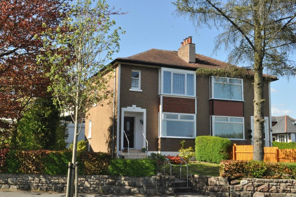 3 Bedrooms Semi Detached House for sale in Southmains Road, Milngavie , East Dunbartonshire, G62 6DQ