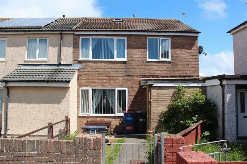 3 Bedrooms End Of Terrace House for sale in Bryn Glas Close, Holyhead