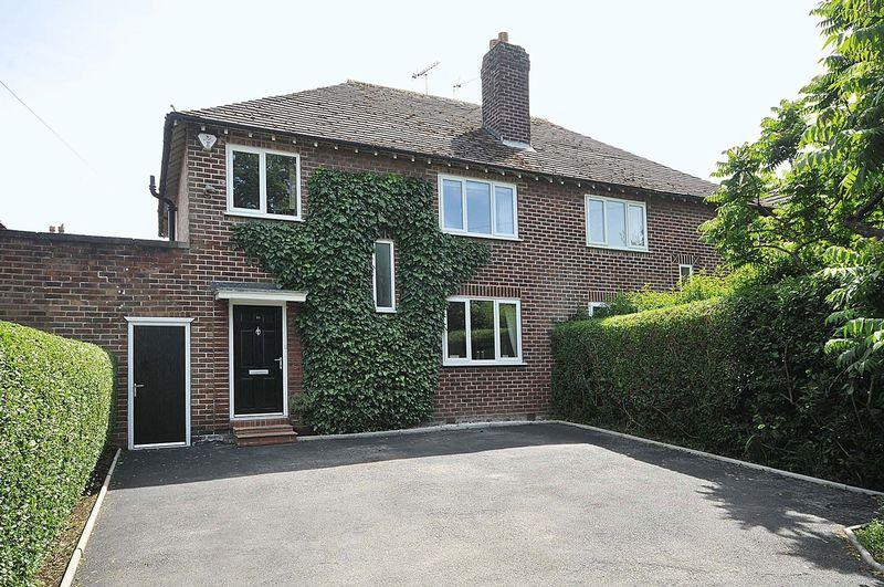 4 Bedrooms Semi Detached House for sale in Northwich Road, Knutsford