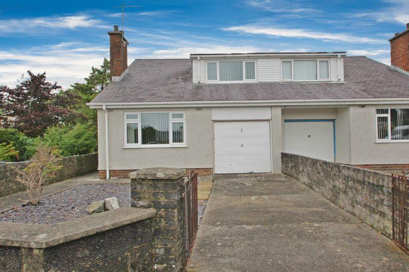 3 Bedrooms Semi Detached Bungalow for sale in Pontllyfni, Caernarfon