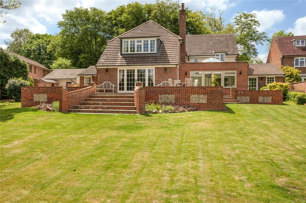4 Bedrooms Detached House for sale in Upper Lambourn Road, Lambourn, Hungerford, Berkshire, RG17