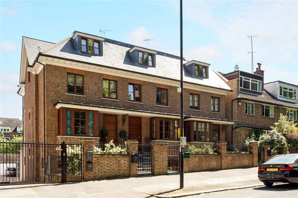 4 Bedrooms Semi Detached House for sale in North Hill, Highgate, London, N6