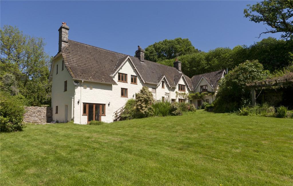 5 Bedrooms Detached House for sale in Mapstone Hill, Lustleigh, Newton Abbot, Devon, TQ13
