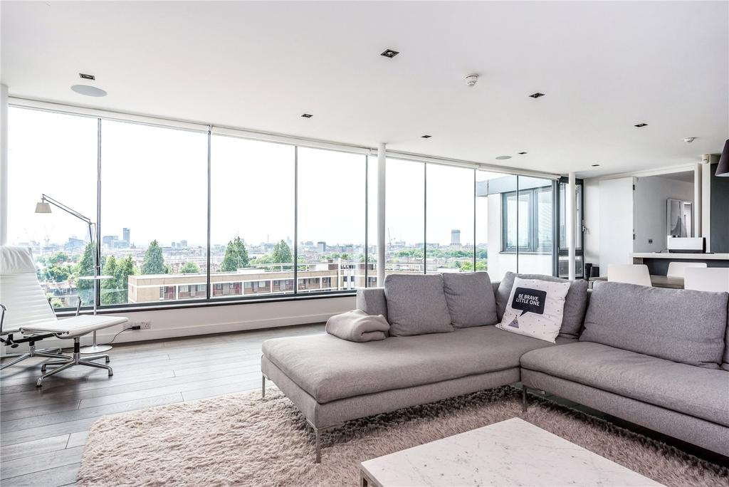 2 Bedrooms Penthouse Flat for sale in Pentonville Road, Islington, London, N1