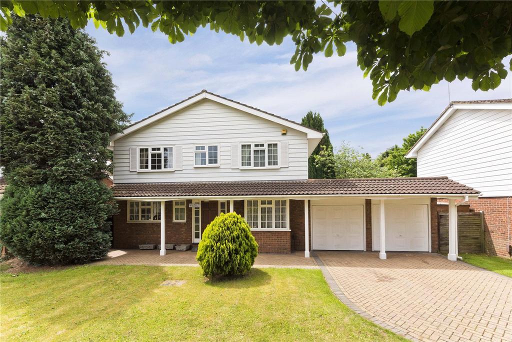 4 Bedrooms Detached House for sale in Marrowells, Weybridge, Surrey, KT13