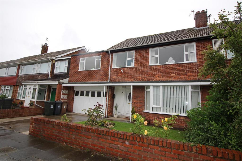 5 Bedrooms Semi Detached House for sale in Sandwich Road, Preston Grange, North Shields