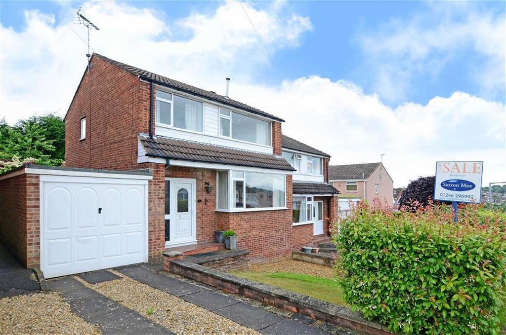 3 Bedrooms Semi Detached House for sale in 10, Pembroke Road, Dronfield, Dronfield, Derbyshire, S18