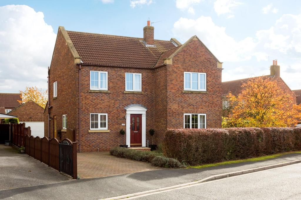 4 Bedrooms Detached House for sale in Manor Close, North Duffield, York