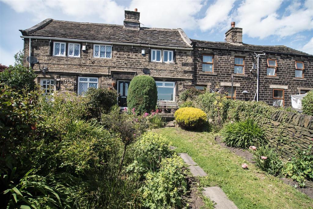 2 Bedrooms Terraced House for sale in Huddersfield Road, Shelley, Huddersfield