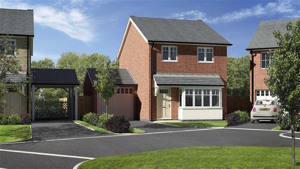 3 Bedrooms Detached House for sale in Plot 35, Meadowdale, Barley Meadows, Llanymynech, Shropshire, SY22