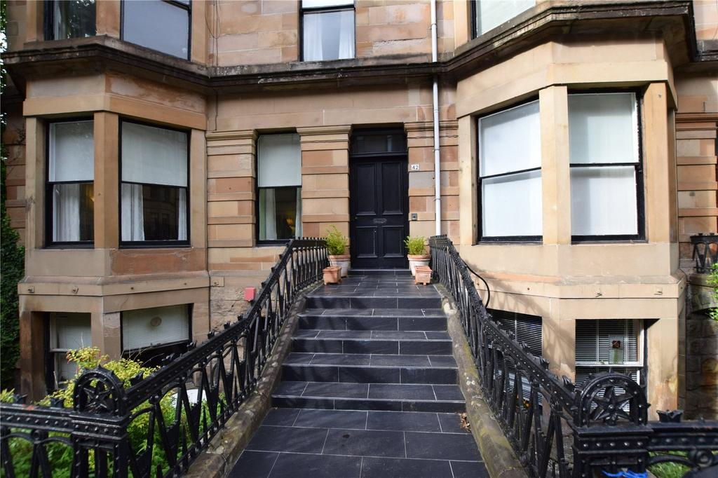 3 Bedrooms Apartment Flat for sale in Main Door, Clouston Street, North Kelvinside, Glasgow