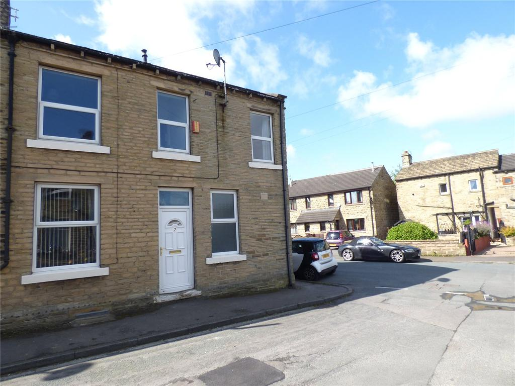 2 Bedrooms End Of Terrace House for sale in Springfield Terrace, Scholes, Cleckheaton, BD19