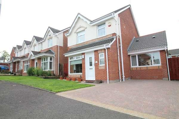3 Bedrooms Detached House for sale in 9 Mulberry Wynd, Cambuslang, Glasgow, G72 7NR