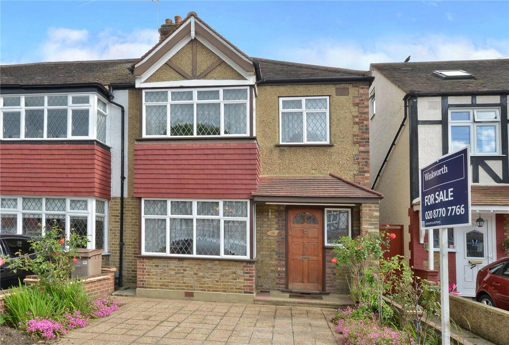 3 Bedrooms End Of Terrace House for sale in Chatsworth Road, Cheam, Sutton, SM3