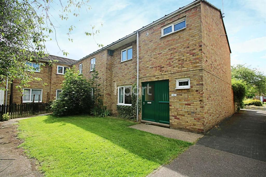 3 Bedrooms End Of Terrace House for sale in Craister Court, Cambridge
