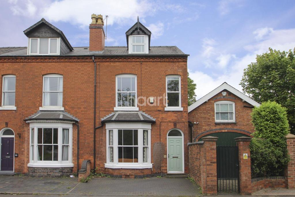 4 Bedrooms Semi Detached House for sale in Harborne Park Road, Harborne