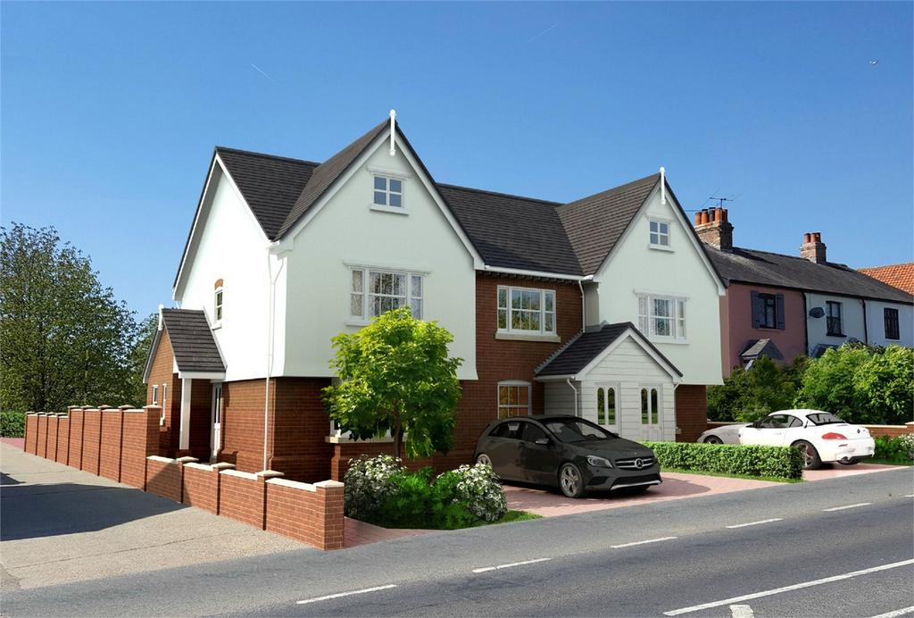 3 Bedrooms End Of Terrace House for sale in 1 Carpenters, High Road, Thornwood, Essex
