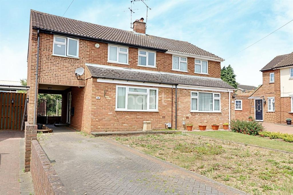 3 Bedrooms Semi Detached House for sale in foston close