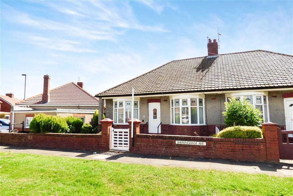 2 Bedrooms Bungalow for sale in Sheringham Avenue, North Shields