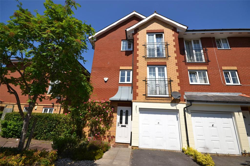 3 Bedrooms End Of Terrace House for sale in Harrison Way, Cardiff Bay, Cardiff, CF11