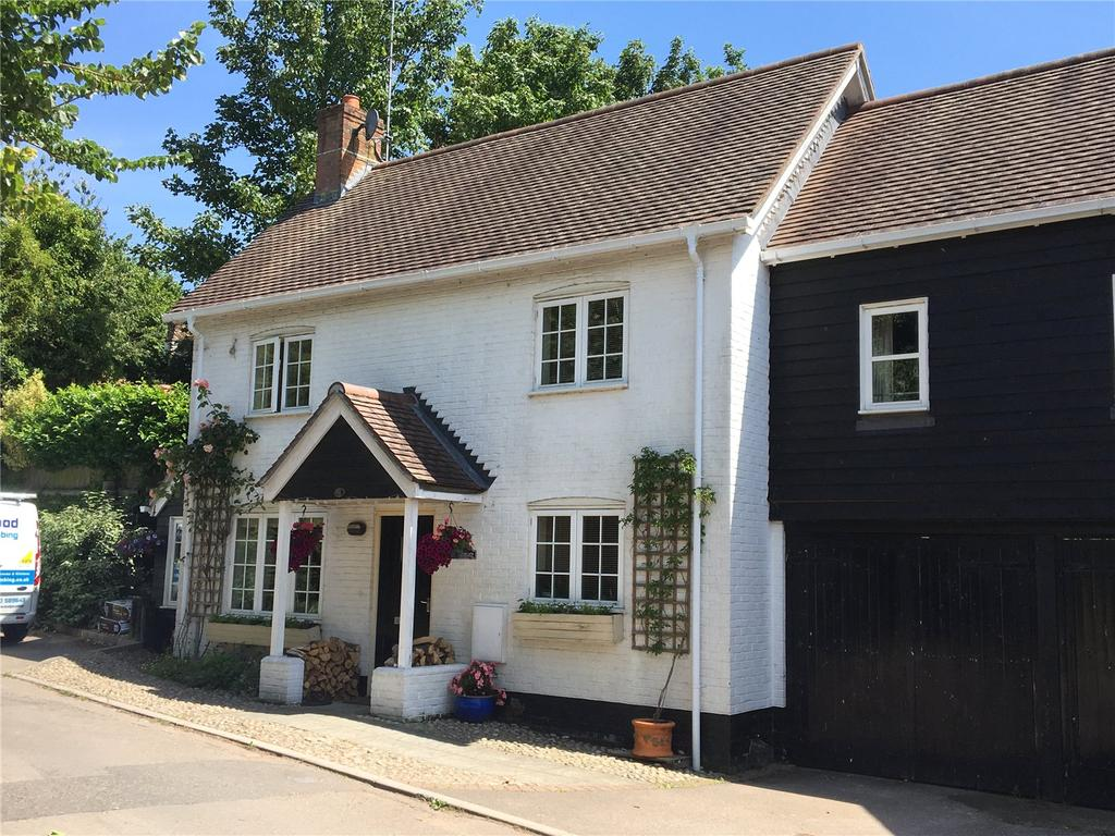 4 Bedrooms End Of Terrace House for sale in White Hart Cottages, Dean Lane, Whiteparish, Wiltshire, SP5