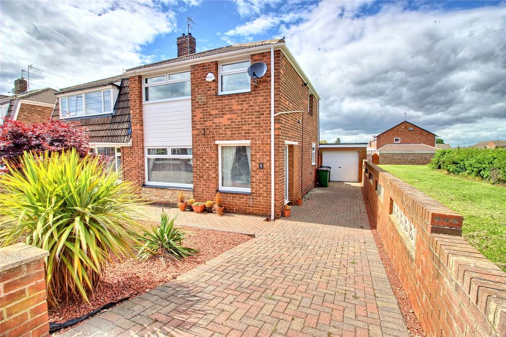 3 Bedrooms Semi Detached House for sale in Exeter Road, Eston