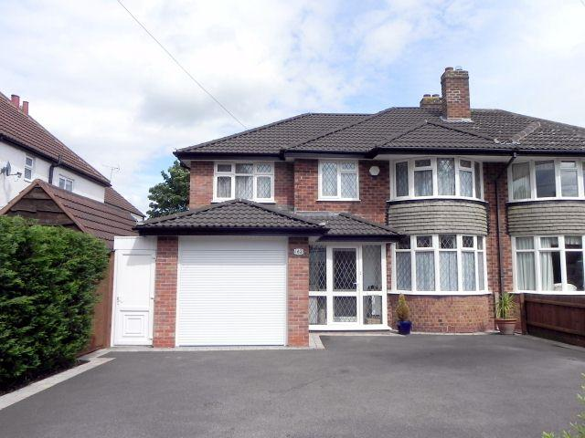 5 Bedrooms Semi Detached House for sale in Whitehouse Common Road,Sutton Coldfield,