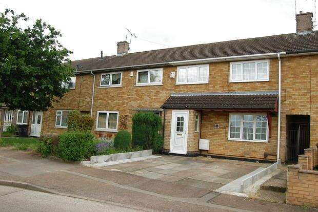 3 Bedrooms Terraced House for sale in Scotswood Crescent, Eyres Monsell, LE2
