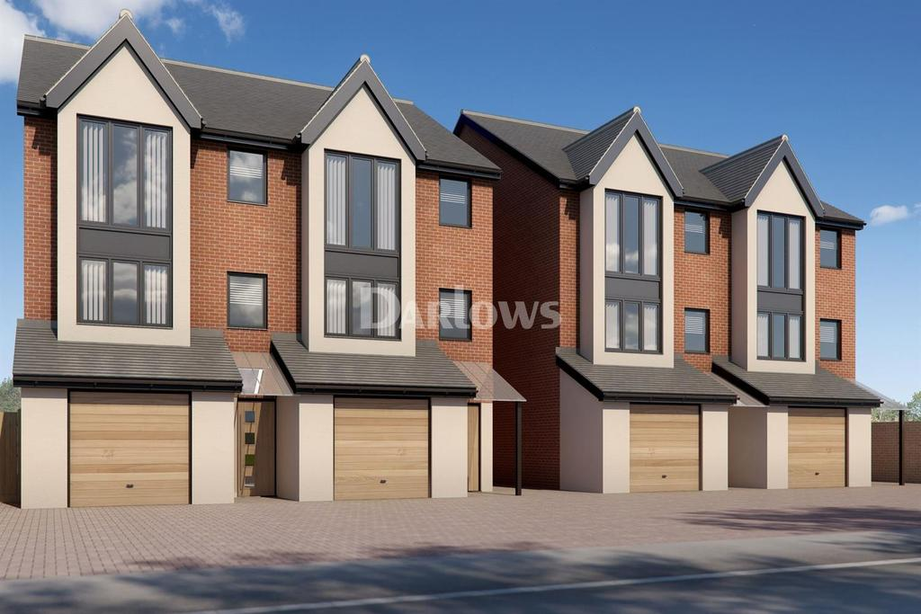 4 Bedrooms Semi Detached House for sale in St Andrews Court, Old St Mellons