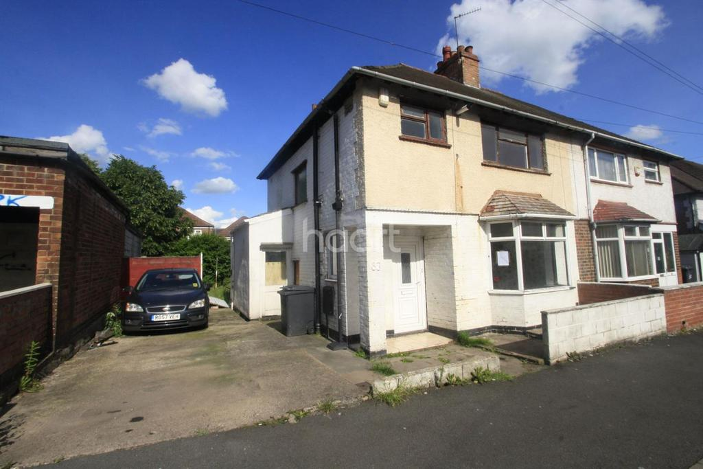 3 Bedrooms Semi Detached House for sale in Stonehill Road, Derby.