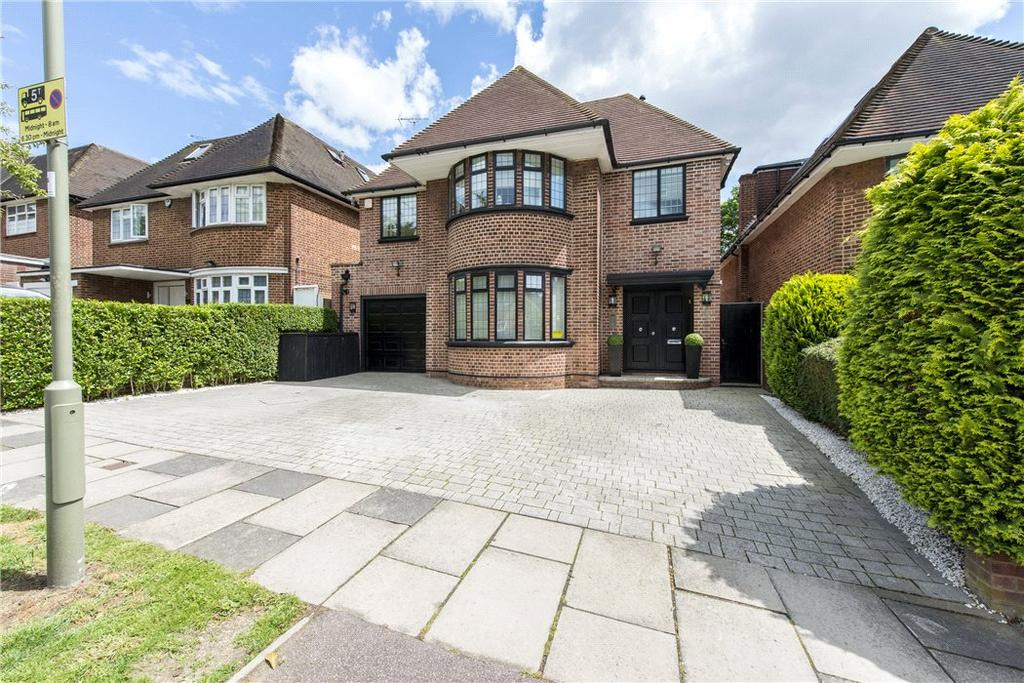 6 Bedrooms Detached House for sale in Connaught Drive, London, NW11