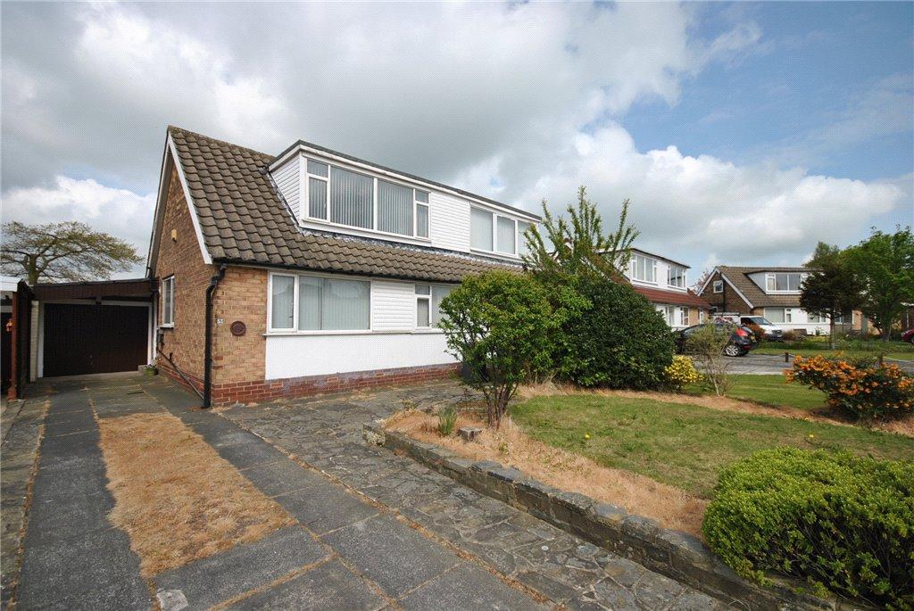 3 Bedrooms Semi Detached House for sale in Cookridge Avenue, Cookridge, Leeds