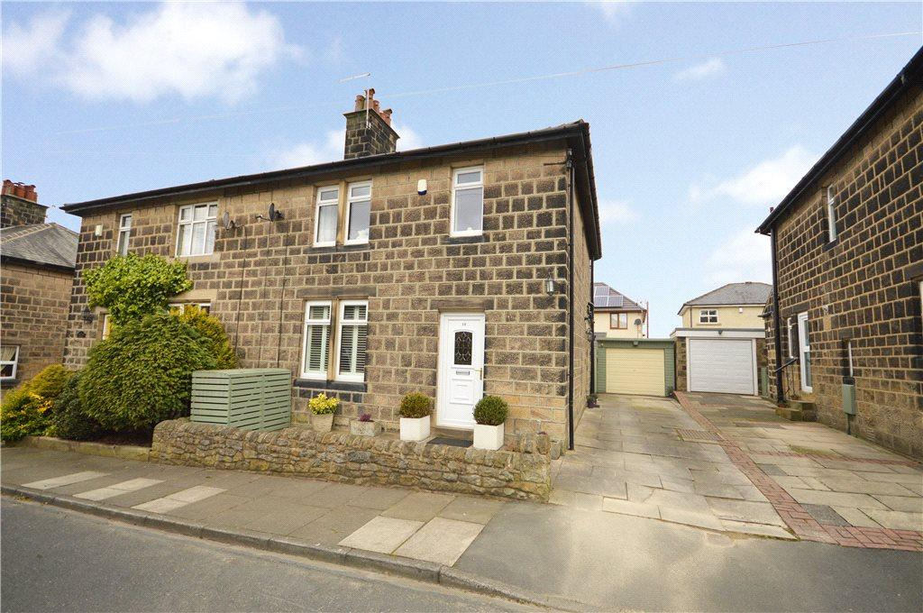 3 Bedrooms Semi Detached House for sale in Ashtofts Mount, Guiseley, Leeds, West Yorkshire