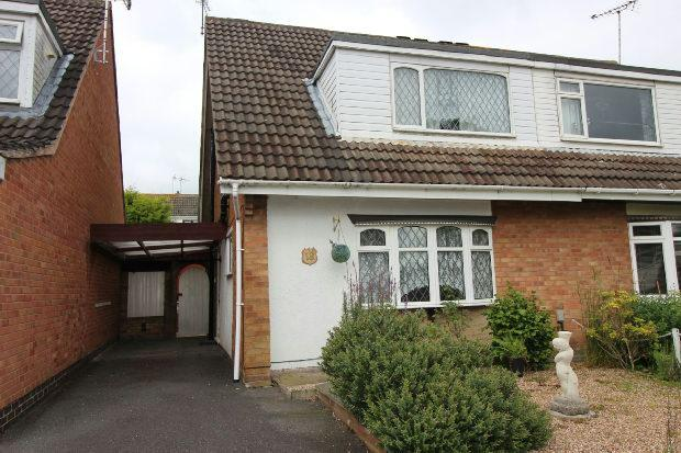 3 Bedrooms Semi Detached House for sale in Mersey Road, Bulkington, Nr Coventry