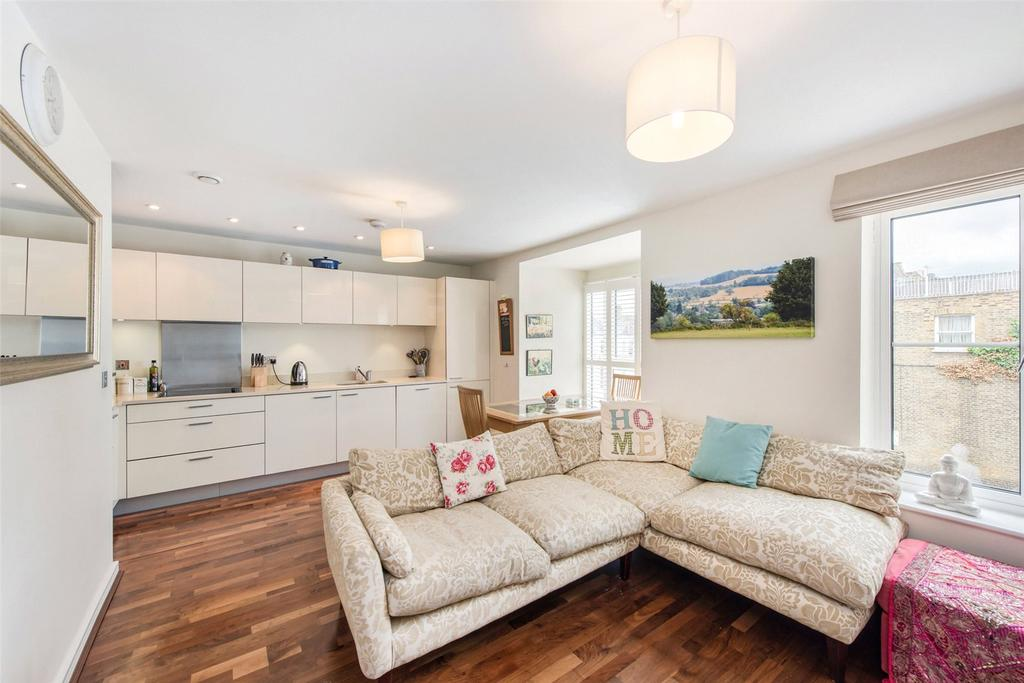 2 Bedrooms Flat for sale in Rylston Road, London