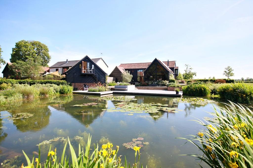 4 Bedrooms Barn Conversion Character Property for sale in Creeting St Peter, Suffolk